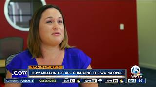 Tuesday at 5 p.m.: Millennials changing the workforce - Video
