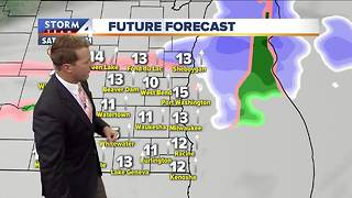 Light snow possible Thursday