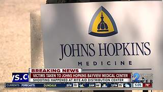Victims taken to Johns Hopkins Bayview Medical Center - Video