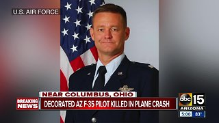 Decorated F-35 pilot killed in plane crash