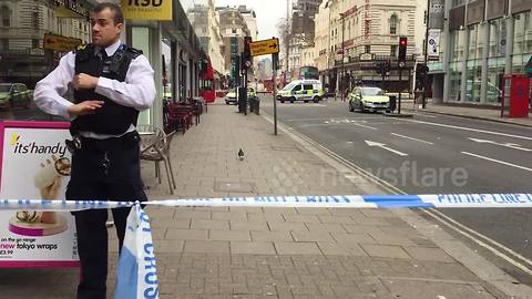 Central London building evacuated due to suspicious package