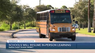 Martin County Schools planning full return to in-person learning next year