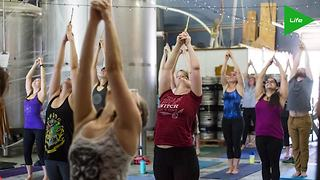 Harry Potter themed Yoga classes in Texas - Video