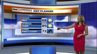 Warm and Muggy Through the Weekend