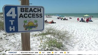 Pinellas County votes to close all beaches, public beach parking amid coronavirus concerns