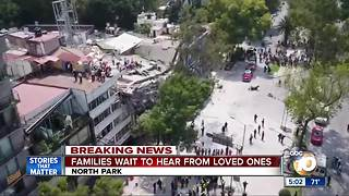 Local families worried about loved ones after Mexico quake - Video