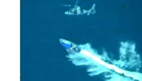 Mexican Navy Seizes Tons of Suspected Cocaine After Boat Chased by Helicopter Runs Ashore