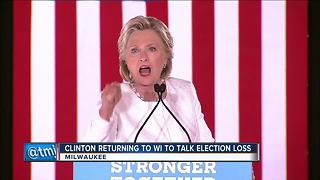 Hillary Clinton to travel to Milwaukee one year after 2016 Presidential election - Video
