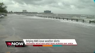 Last training session to become a NWS trained weather spotter before this Hurricane season - Video