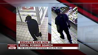 FBI looking for serial robber - Video