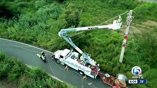 FPL workers return from Puerto Rico - Video