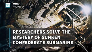Researchers Solve The Mystery Of Sunken Confederate Submarine