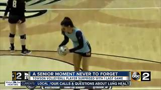 A senior moment never to forget - Video