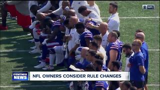 Local reaction to making NFL players stand - Video