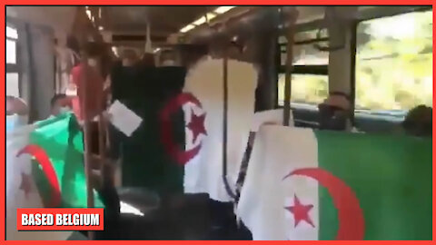 When you take the Metro in Brussels and you think you are in Algiers...