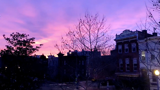 Timelapse Captures Stunning Sunrise Over DC Metro Area - Video