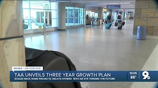 Tucson Airport Authority unveils three-year growth plan