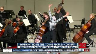 Young People's Concert today - Video