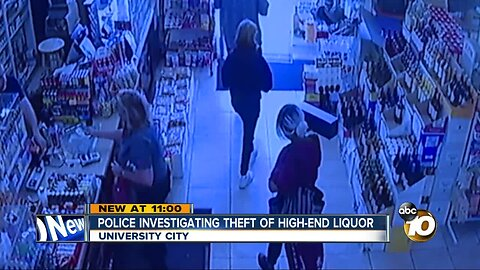 Police investigating high-end liquor theft in University City