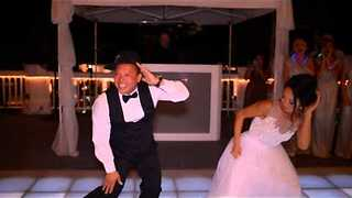 This Bride Turned Her Dance With Dad Into Something Awesome