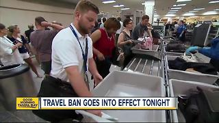 Supreme Court allows parts of travel ban to take effect on Thursday - Video