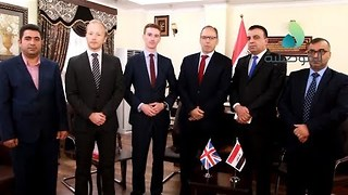 British Diplomats Visit Mosul for First Time Since Liberation From Islamic State - Video