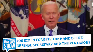 JOE BIDEN FORGETS THE NAME OF HIS DEFENSE SECRETARY AND THE PENTAGON?