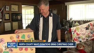 Real life Santa Claus spends life helping others during holiday season