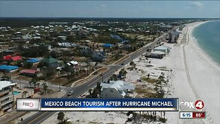 Mexico Beach tourism struggle