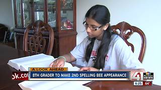 8th-grader to make second Spelling Bee appearance - Video