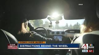 Study: New 'infotainment' tech in vehicles increases distracted driving risk - Video