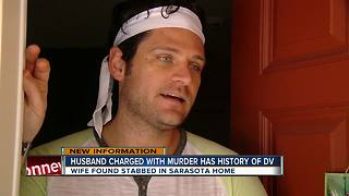 Sarasota man charged with killing wife after daughter finds her dead in their home - Video