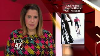 Snyder signs bill to allow electric bicycles on trails - Video