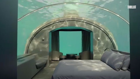 This Hotel Room Lets You Sleep Under the Ocean