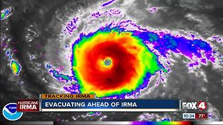 Evacuations ahead of Hurricane Irma