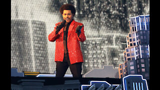 The Weeknd performs greatest hits medley at Pepsi Super Bowl LV Halftime Show