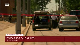 Double shooting at 15th and Mitchell leaves one dead