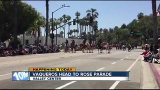 Valley Center Vaqueros Head to Rose Parade - Video