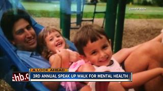 3rd annual Speak Up Walk for mental health - Video