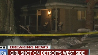 18-year-old woman shot on Detroit's west side - Video