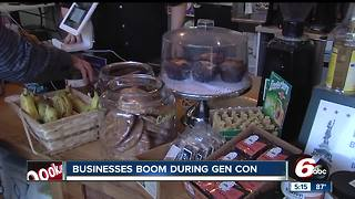 Businesses boom during Gen Con week - Video