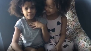 2 Little Girls' Advice for Anyone Having Rough Time Couldn't be More True - Video