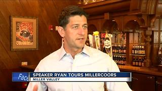 Speaker Ryan visits MillerCoors in Milwaukee - Video