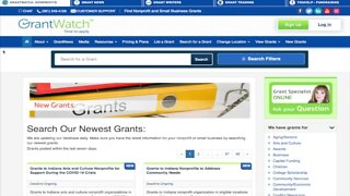 Grant website helps struggling nonprofit organizations, small businesses