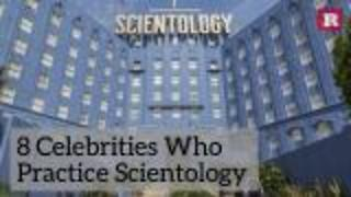 8 Celebrities Who Practice Scientology | Rare People - Video