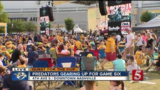 Preds Gearing Up For Game 6 - Video