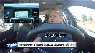 AAA: Infotainment systems increase distracted driving - Video