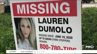Community members post signs for missing mom in Cape Coral