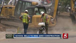 John Overton High School To Open Despite Ongoing Construction - Video