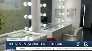 Businesses Prepare for Shutdown